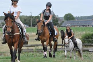 100% Equitation - Pâques / Normandie