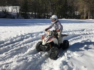 SEJOUR QUAD DES NEIGES 7 jours - Haute Savoie - 6-14 ans