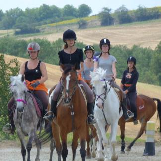 SEJOUR CAVALCADE EN LAURAGAIS 7 jours - Haute Garonne - 6/17 ans